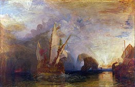 Ulysses Deriding Polyphemus - Homer's Odyssey | J. M. W. Turner | Painting Reproduction