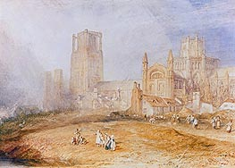 Ely Cathedral, undated by J. M. W. Turner | Painting Reproduction