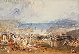 Plymouth, Devonshire, c.1830 by J. M. W. Turner | Painting Reproduction