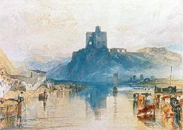 Norham Castle on the River Tweed | J. M. W. Turner | Painting Reproduction