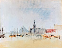 Venice: The Punta della Dogana with the Zitelle in the Distance | J. M. W. Turner | Painting Reproduction