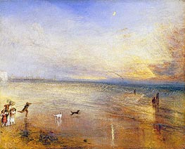 The New Moon (I've lost My Boat, You shan't have Your Hoop) | J. M. W. Turner | Gemälde Reproduktion