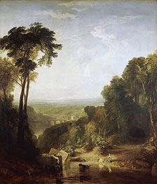 Crossing the Brook, 1815 by J. M. W. Turner | Painting Reproduction