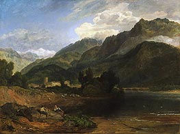 Bonneville, Savoy, c.1812 by J. M. W. Turner | Painting Reproduction