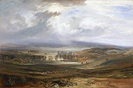 Raby Castle, the Seat of the Earl of Darlington | J. M. W. Turner | Painting Reproduction
