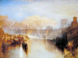 Ancient Rome: Agrippina Landing with the Ashes of Germanicus | J. M. W. Turner | Painting Reproduction