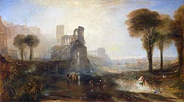 Caligula's Palace and Bridge | J. M. W. Turner | Painting Reproduction
