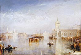 The Dogano, San Giorgio, Citella, from the Steps of the Europa | J. M. W. Turner | Painting Reproduction