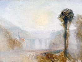 The Ponte Delle Torri, Spoleto | J. M. W. Turner | Painting Reproduction