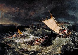 The Shipwreck | J. M. W. Turner | Painting Reproduction
