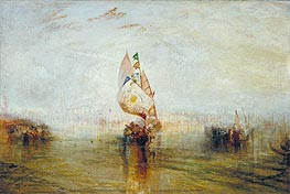 The Sun of Venice Going to Sea | J. M. W. Turner | Gemälde Reproduktion