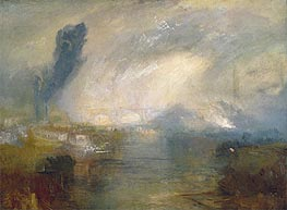 The Thames above Waterloo Bridge | J. M. W. Turner | Painting Reproduction