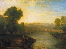 View of Richmond Hill and Bridge | J. M. W. Turner | Gemälde Reproduktion