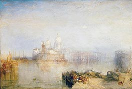 The Dogana and Santa Maria della Salute, Venice | J. M. W. Turner | Gemälde Reproduktion