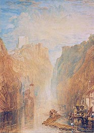 On the Upper Rhine | J. M. W. Turner | Painting Reproduction