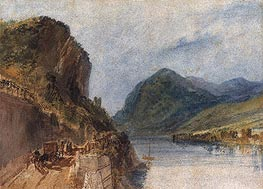 The Drachenfels | J. M. W. Turner | Painting Reproduction