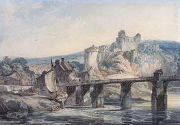 Chepstow Castle | J. M. W. Turner | Painting Reproduction