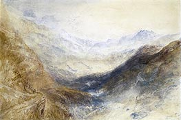 Simplon Pass | J. M. W. Turner | Painting Reproduction