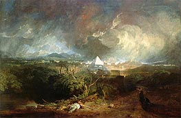 The Fifth Plague of Egypt, 1800 by J. M. W. Turner | Painting Reproduction