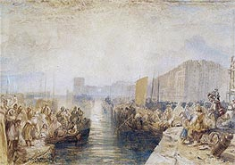 Le Havre: Sunset | J. M. W. Turner | Painting Reproduction