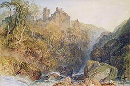 Rosslyn Castle, c.1820 by J. M. W. Turner | Painting Reproduction