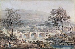 Matlock, 1794 by J. M. W. Turner | Painting Reproduction