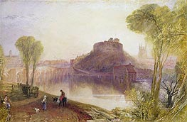 Tamworth Castle, Staffordshire, undated by J. M. W. Turner | Painting Reproduction