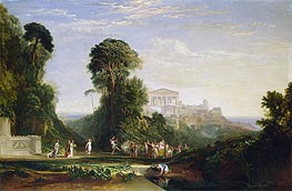 The Temple of Jupiter - Prometheus Restored, undated by J. M. W. Turner | Painting Reproduction