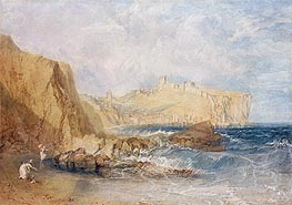 Scarborough, 1818 by J. M. W. Turner | Painting Reproduction
