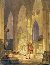 Caen Cathedral | J. M. W. Turner | Painting Reproduction