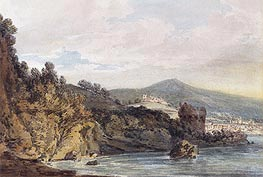 The Coast Under Vietri, near Salerno | J. M. W. Turner | Painting Reproduction