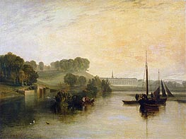 Petworth, Sussex, the Seat of the Earl of Egremont: Dewy Morning, 1810 by J. M. W. Turner | Painting Reproduction
