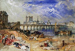 Saumur, undated by J. M. W. Turner | Painting Reproduction