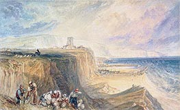 Folkestone, Kent, c.1822 by J. M. W. Turner | Painting Reproduction