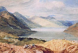 Loch Lomond, undated by J. M. W. Turner | Painting Reproduction