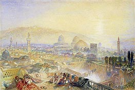 Jerusalem from the Latin Convent, undated by J. M. W. Turner | Painting Reproduction