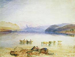 Ullswater, Cumberland, c.1835 by J. M. W. Turner | Painting Reproduction
