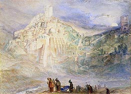 Wilderness at Engedi and Convent of Santa Saba | J. M. W. Turner | Painting Reproduction