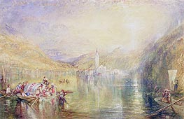 Kussnacht, Lake of Lucerne, Switzerland | J. M. W. Turner | Painting Reproduction