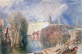 Warwick Castle | J. M. W. Turner | Painting Reproduction