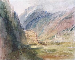 Bonhomme Convent, Chamonix | J. M. W. Turner | Painting Reproduction