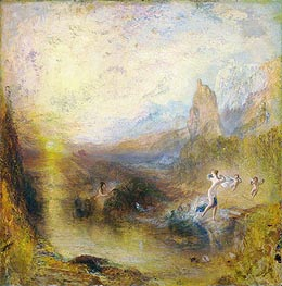 Glaucus and Scylla | J. M. W. Turner | Painting Reproduction