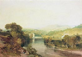 Addingham Mill on the Wharfe, West Yorkshire | J. M. W. Turner | Painting Reproduction