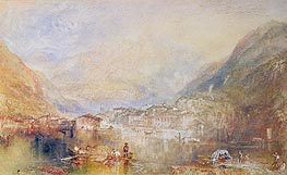 Brunnen from the Lake of Lucerne | J. M. W. Turner | Gemälde Reproduktion