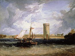 Tabley, the Seat of Sir J.F. Leicester (Windy Day) | J. M. W. Turner | Painting Reproduction