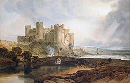 Conway Castle | J. M. W. Turner | Painting Reproduction