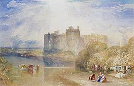 Carew Castle, Pembroke | J. M. W. Turner | Gemälde Reproduktion