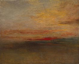 Sunset | J. M. W. Turner | Gemälde Reproduktion