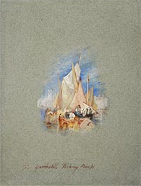 Great Yarmouth Fishing Boats | J. M. W. Turner | Painting Reproduction