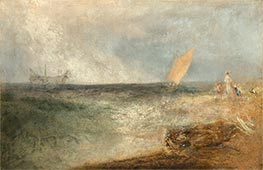 View of Margate, Evening | J. M. W. Turner | Painting Reproduction